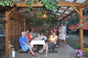 Familie Hofmayer und Gäste