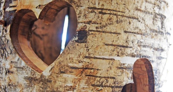 Holzschnitzerei am Bauernhof Hofmayer