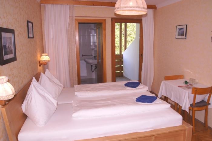 Zimmer in der Pension Hofmayer